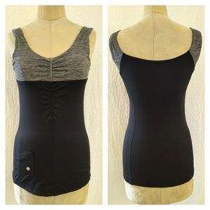 Lululemon Tank with Cinched Front and Pocket